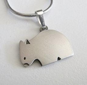 Wombat Pendant & Necklace Allegria