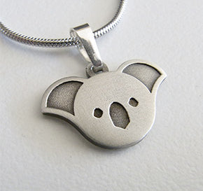 Koala Pendant & Necklace Allegria Designs