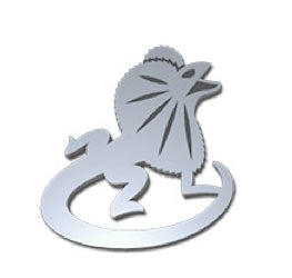 Frill Neck Lizard Pin -Allegria Designs