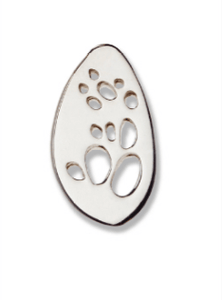 Possum sliver footprint Pin - Bushprints