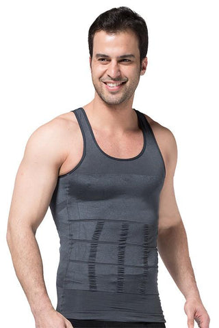 Gray Tight Tank Vest Body Shaper - waistshaper
