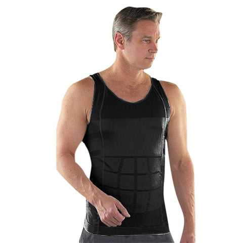 Black Tight Tank Vest Body Shaper - waistshaper