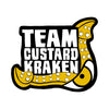 Team Custard Kraken Games Logo – Brighton based independent board game developers. Creators of Penguin Brawl and Find the Pickle