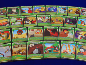 Penguin Brawl: Heroes of Pentarctica - a board game by Team Custard Kraken - Instant cards promotional photo