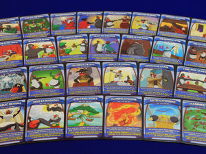 Penguin Brawl: Heroes of Pentarctica - a board game by Team Custard Kraken - Spell cards promotional photo