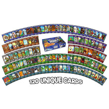 Load image into Gallery viewer, Penguin Brawl: Heroes of Pentarctica - a board game by Team Custard Kraken - 120 unique cards to get brawling with.