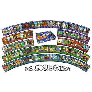 Penguin Brawl: Heroes of Pentarctica - a board game by Team Custard Kraken - 120 unique cards to get brawling with.