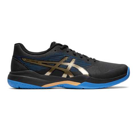 Asics Gel Game 7 Men's Tennis Shoe (Black/Gold)