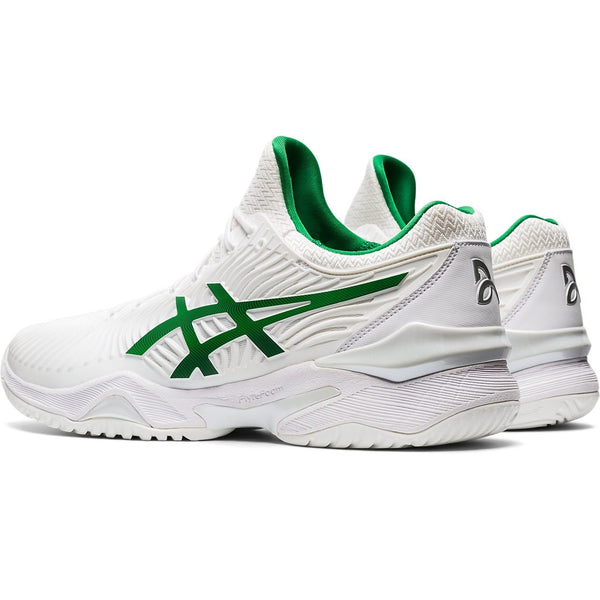 Asics Court FF 2 Novak Men's Tennis Shoe (White/Green)