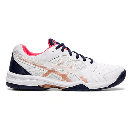 Asics Gel Dedicate 6 Women's Tennis Shoe (White)