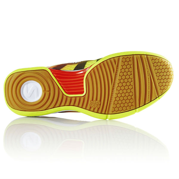 Salming Viper 4 Mens Indoor Court Shoe (Yellow/Orange) - RacquetGuys