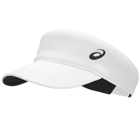 Asics Performance Visor (White) - RacquetGuys