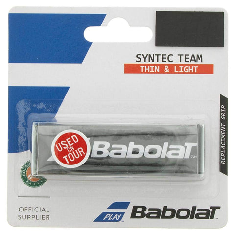 Babolat Syntec Team Replacement Grip (Black) - RacquetGuys
