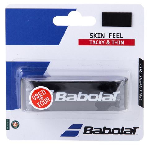 Babolat Skin Feel Replacement Grip (Black) - RacquetGuys