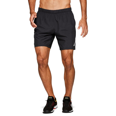 Asics Men's Club Shorts (Black) - RacquetGuys