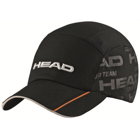 Head Tour Team Functional Hat (Black) - RacquetGuys