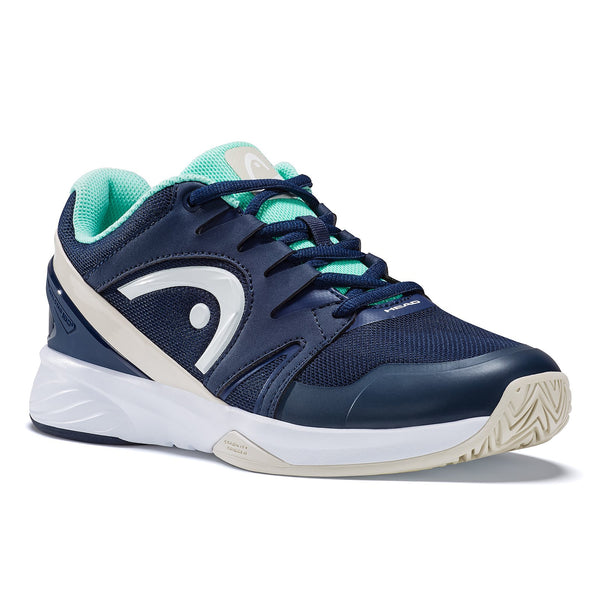 Head Sprint Team 2.0 Women's Tennis Shoe (Blue/White/Teal) - RacquetGuys