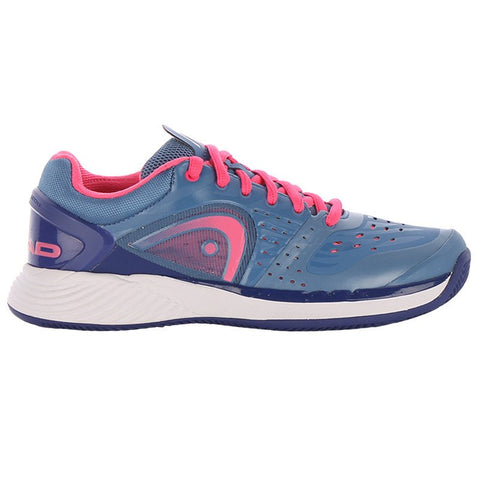 Head Sprint Pro Women's Clay Tennis Shoe (Blue/Pink)