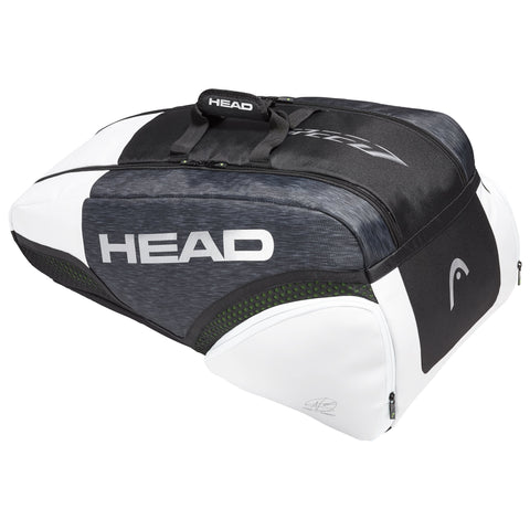 HEAD Djokovic Supercombi 9 Racquet Tennis Bag