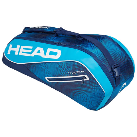 Head Tour Team Combi 6 Pack Racquet Bag (Blue)