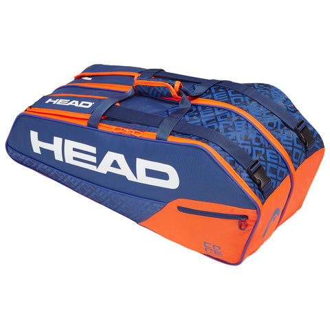 HEAD Core Combi 6 Racquet Bag (Blue & Orange)