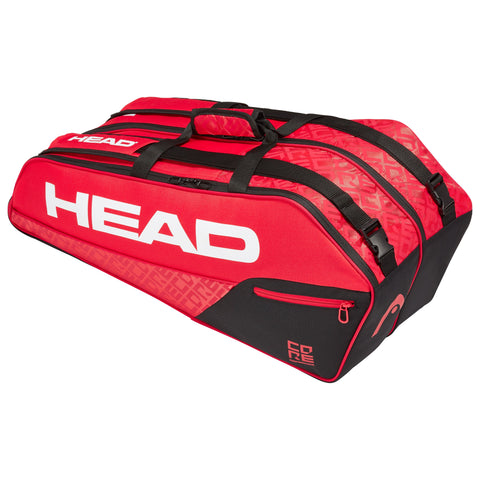 Head Core Combi 6 Pack Racquet Bag (Red/Black)