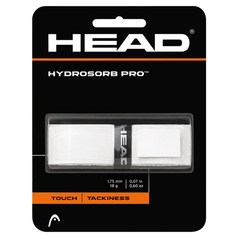 Head Hydrosorb Pro Replacement Grip (White) - RacquetGuys