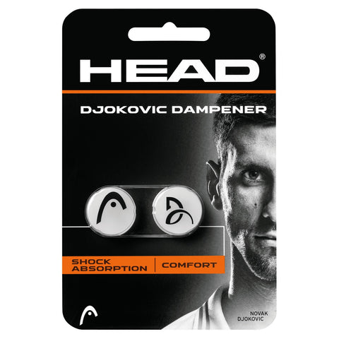 Head Djokovic Vibration Dampener (White)