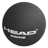 Head Prime Double Yellow Dot Squash Balls (single ball) - RacquetGuys