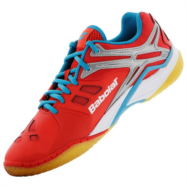 Babolat Shadow 2 Men's Indoor Court Shoe (Red) - RacquetGuys