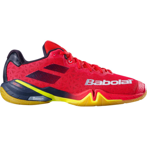 Babolat Shadow Tour Men's Indoor Court Shoe (Red) - RacquetGuys