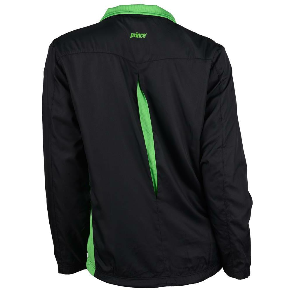 Prince Womens Warm Up Jacket (Black) - RacquetGuys