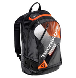 Tecnifibre Air Endurance Backpack Racquet Bag (Black/Orange)
