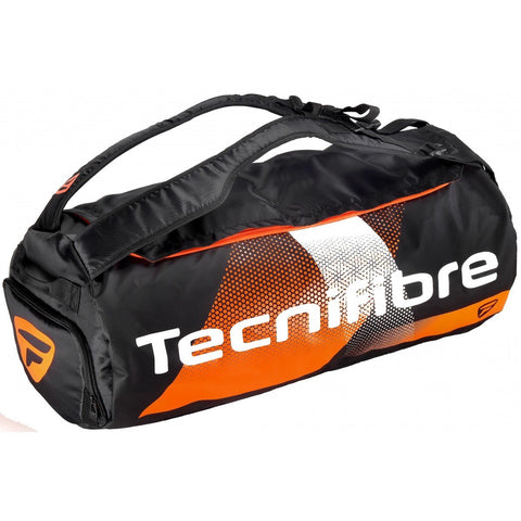 Tecnifibre Air Endurance Rackpack 8 Pack Racquet Bag (Black/Orange)