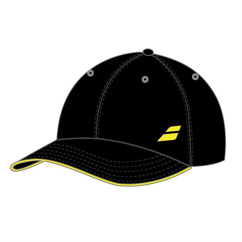 Babolat Basic Logo Hat (Black) - RacquetGuys