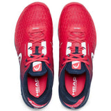 Head Revolt Pro 3.0 Men's Tennis Shoe (Red/Blue) - RacquetGuys