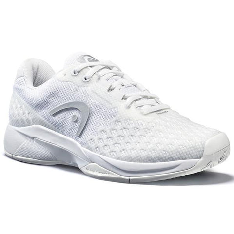 Head Revolt Pro 3.0 Women's Tennis Shoe (White/Silver)