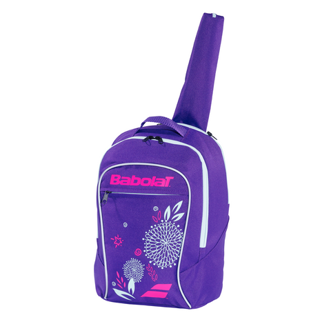 Babolat Junior Backpack Racquet Bag (Purple) - RacquetGuys