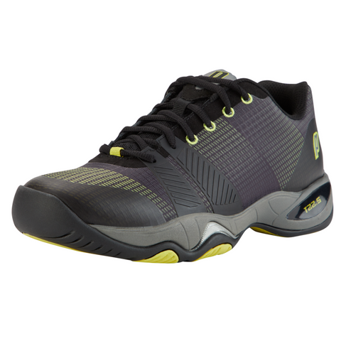 Prince T22.5 Men's Tennis Shoe (Black/Yellow) - RacquetGuys