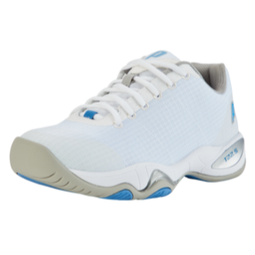 Prince T22.5 Women's Tennis Shoe (White/Blue) - RacquetGuys