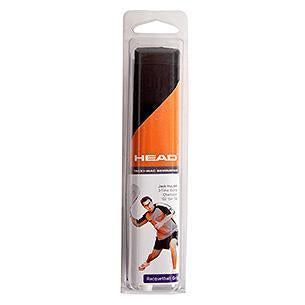HEAD Tacki-Mac Serrated MT Racquetball Grip (Black) - RacquetGuys