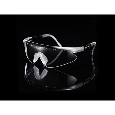 Black Knight Turbo Eyeguard (Silver/Black) - RacquetGuys