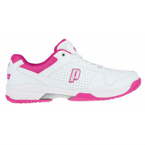 Prince Advantage Lite Womens Tennis Shoe (White/Pink)