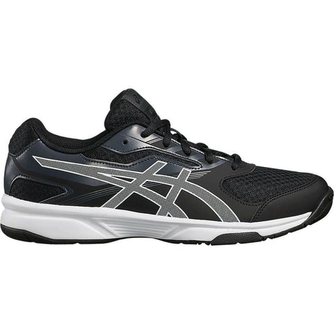 Asics Gel Upcourt 2 Men's Indoor Court Shoe (Black/White) - RacquetGuys