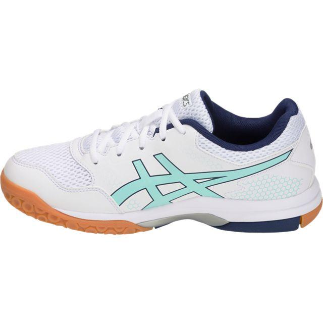 Asics Gel Rocket 8 Womens Indoor Court Shoe (White/Icy ...