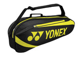 Yonex Active 3 Pack Racquet Bag (Black/Lime)
