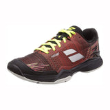 Babolat Jet Mach II AC Mens Tennis Shoe (Dark Red/Black)