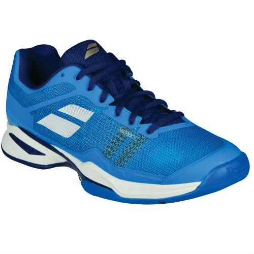 Babolat Jet Mach I Men's Tennis Shoe (Blue/White) - RacquetGuys