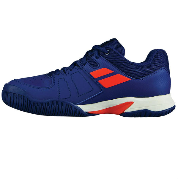 Babolat Pulsion AC Junior Tennis Shoe (Blue/Orange)