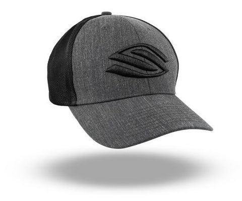 Selkirk Heather Trucker Hat (Black) - RacquetGuys.ca